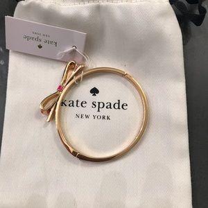 Kate Spade pink/white bracelet